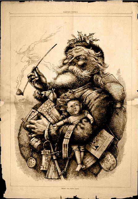 Iconic Santa