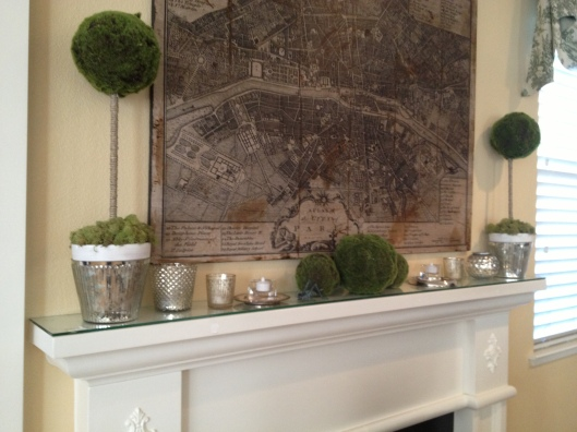 Post holiday mantel updates