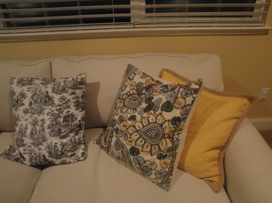 New PB pillows