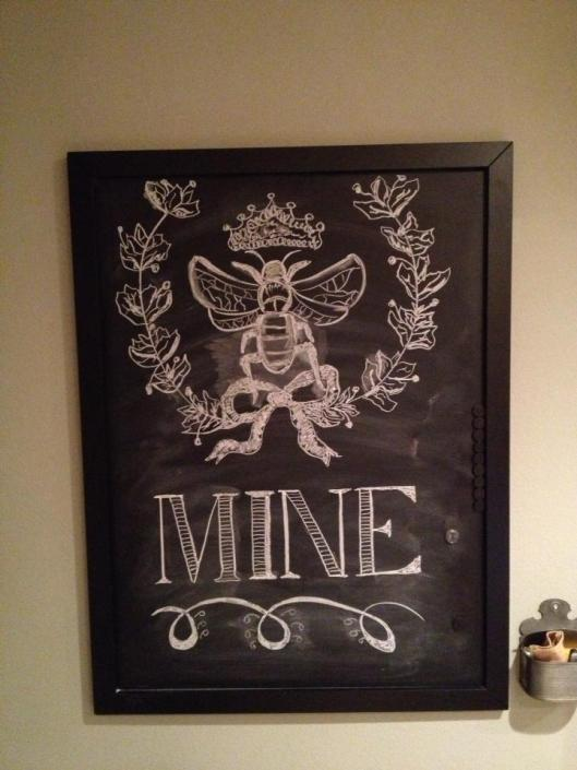 Valentine Day Chalkboard art