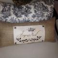 New Noel pillow